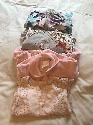 4 X Girls Bodysuits Size 3 Mths
