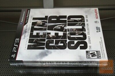 Metal Gear Solid: The Legacy Collection (PlayStation 3 PS3 2013) FACTORY SEALED!