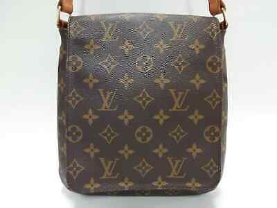6bd8a17199d5 Auth LOUIS VUITTON Musette Salsa Short Strap M51258 Monogram AS0030 Shoulder  Bag