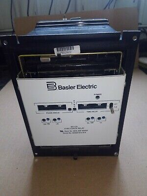 Basler Electric BE1-25 STNC Sync-Check Relay Used