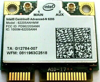 Intel Centrino Advanced-N 6205 Network Adapter - Mini PCIE Wireless WIFI Card