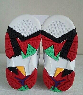 new concept 1ccd5 42164 WOW AIR JORDAN 7 RETRO BABY Sz 5c HARE BUGS Red Grey Silver black EASTER 4  8 11