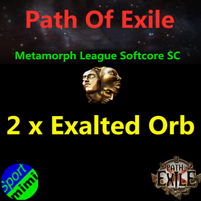 50 x Exalted Orb Path of Exile POE Currency Blight League Softcore SC 50 ex Item