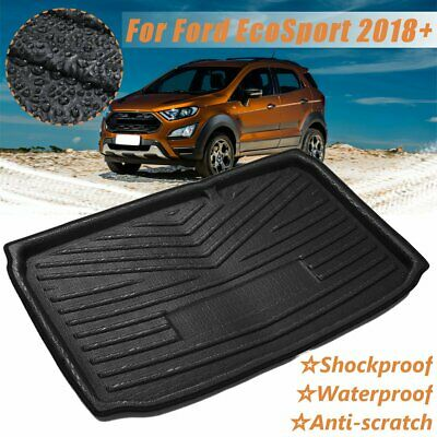 Rear Trunk Cargo Boot Liner Tray Floor Mat For Ford EcoSport 2018+ Waterproof
