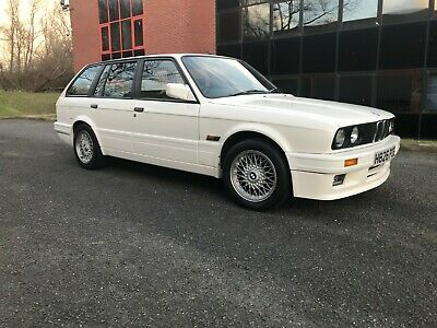 Bmw E30 325i Touring 126k 3 Owners Full Sport Leather Mtech Kit Bbs Air Con 1991