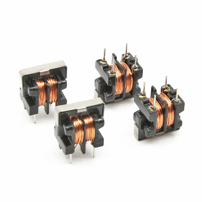 5pcs UU9.8 UF9.8 30mH Common Mode Choke Inductor For Filter PIN Pitch 7x8mm