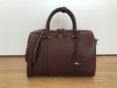 MCM Boston Bag / Bordeaux Tasche / NEU