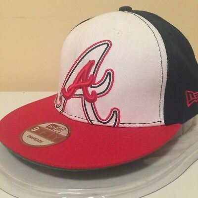 MLB Atlanta Braves LOGO 9FIFTY Snapback Cap by New Era