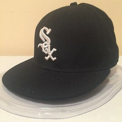 "MLB Chicago White Sox 7""(55.7 cm) White Word Mark 59FIFTY by New Era"