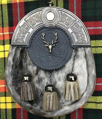Scottish Kilt Sporrans Stag Head Antique Finish/Mens Kilt Sporrans/