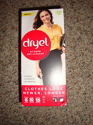 dryel At-Home Dry Cleaner Refill, Cleans 6 Loads, Up To 30 Garments