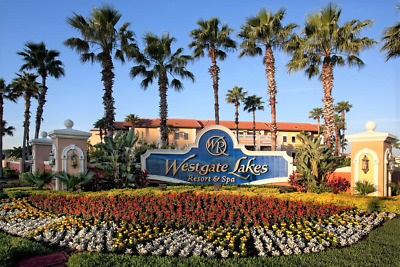 Westgate Lakes Resort & Spa timeshare week (33) three beds 3 baths for use 2019