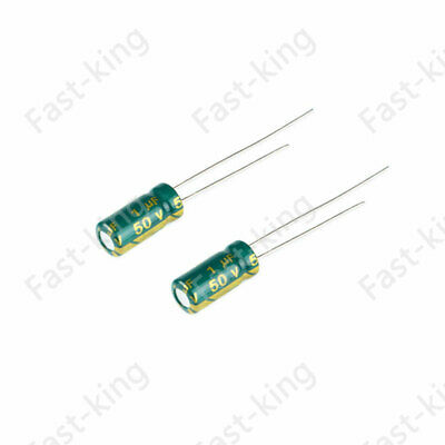 Electrolytic Capacitors 1UF-3300UF ±20% High Frequency LOW ESR Radial Capacitor