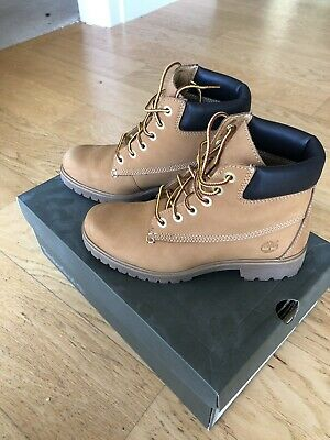 14ce205dff1 WOMENS TIMBERLAND 6 inch Premium Boot Dark Blue Fashion Ankle Boots ...