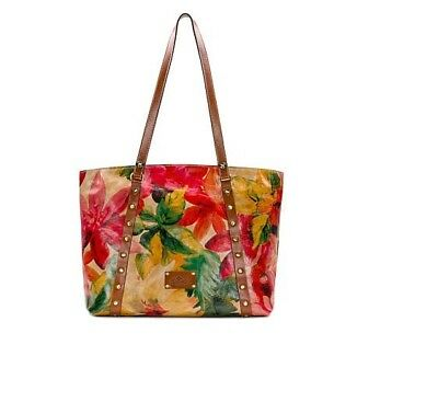 Patricia Nash Treviso Leather Tote - Spring Multi Brand New With Tags