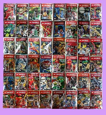 Lego NINJAGO, Polybag, YOUR CHOICE, limited, Kai, Lloyd, Zane, Nya, Jay, Cole