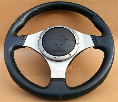 Mitsubishi Lancer Evolution Evo 7 8 9 Momo leather steering wheel oem Jdm used