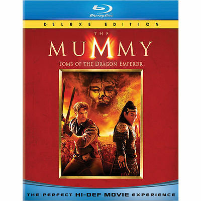 The Mummy: Tomb of the Dragon Emperor   *New*   (Blu-ray Disc, 2008, 2-Disc Set)