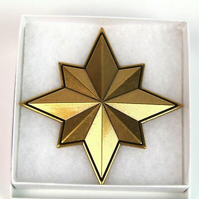 Zobie Box Exclusive Captain Marvel Insignia Star Cosplay