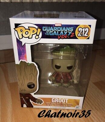 FUNKO POP GROOT 212 Guardians of the Galaxy 2 BABY GROOT JUMPSUIT NEUF