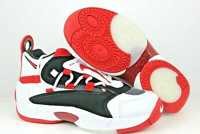 567eec86a4b Nike Air Swoopes Ii 2 White Red Black Basketball Womens Wmns Sz 7 917592-100