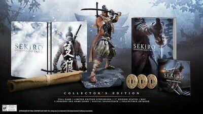 Sekiro Shadows Die Twice édition collector Précommande Playstation 4 PS4