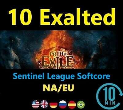 10 Exalted Orb - SYNTHESIS League Softcore ( Path of Exile POE SC) 10ex EU/NA/UK