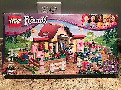 Lego 3189 Retired Friends Heartlake Stables 416pcs Brand New