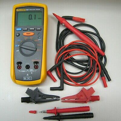 Fluke 1507 Insulation Tester Complete and MINT Condition, Free Shipping