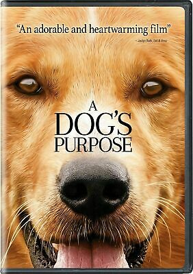 A Dog's Purpose DVD 2017 - SHIPS IN 1 BUSINESS DAY WITH TRACKING