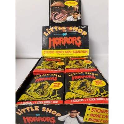 Little Shop of Horrors 1986 Topps Trading Cards Stickers -Single Packet-