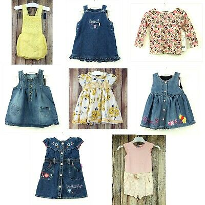 Baby Girls 6 - 9 Months Summer Clothes Bundle Mothercare Next Butterfly Disney