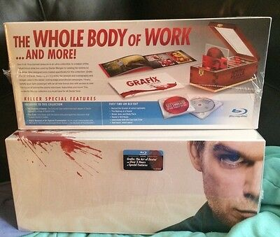 Dexter: The Complete Series Collection (Blu-ray Disc, 2013, 25-Disc Set)