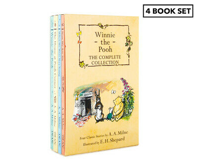Winnie The Pooh The Complete Collection 4-Book Box Set