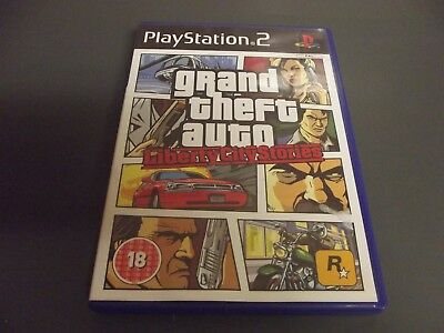 GRAND THEFT AUTO liberty city stories ps2 game complete with manual
