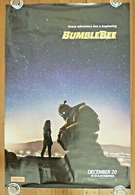 BUMBLEBEE Transformers Original 2018 Australian Advance One Sheet Movie Poster B