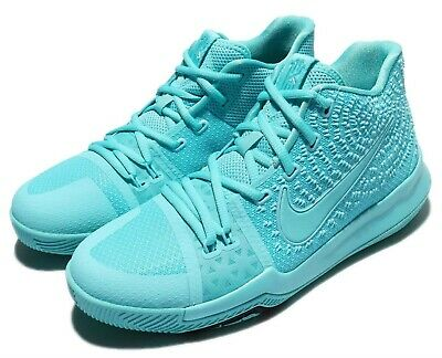 huge discount 996f9 83dae New Youth Nike Kyrie 3 (GS) Basketball Shoes Size 5y Aqua Black 859466