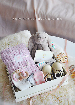 Baby Girl Gift Box - Tea Rosy