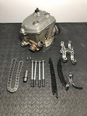 Ktm cylinder head  250sxf valves cams chain  guides cover 2006 camshaft sxf 250