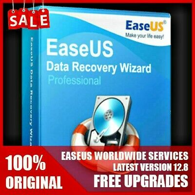 EaseUS Data Recovery Wizard Pro V12.8 For WINDOWS ✅ Lifetime License🔥 75% OFF🔥