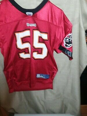 be5bad16 Reebok NFL Youth Tampa Bay Buccaneers #55 Derrick Brooks Jersey sz large  14-16