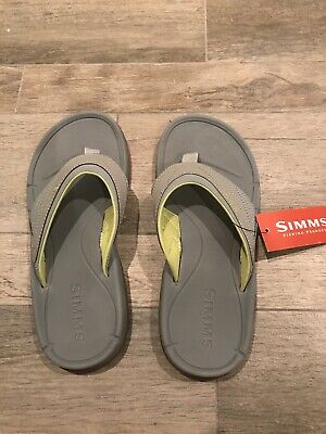 50c425ca7a14 SIMMS ATOLL FLIP Flop - Best Boating Fishing Flip Ever! - New - Size ...