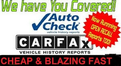 #1 Seller 100% FULL CARFAX & AUTOCHECK PDF HISTORY REPORT