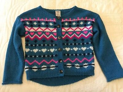 Oshkosh Cardigan Girls Size 2