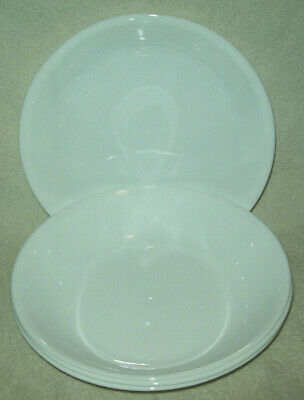 Corning Corelle Livingware Winter Frost White Set of 4 (20-oz) Pasta Bowls 8.5""
