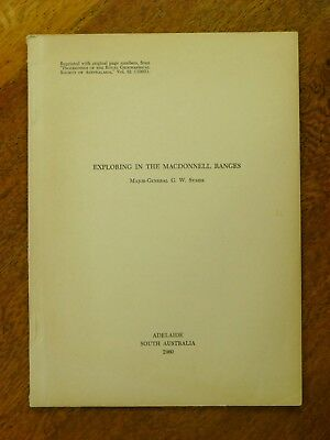 Exploring in the MacDonnell Ranges - G W Symes (Paperback, 1960)