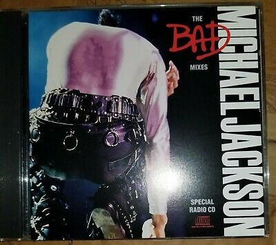 Michael Jackson the bad mixes radio special promo cd