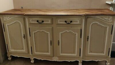 Antique French Provencial Sideboard With Farrow Ball Paint And Beautifully...