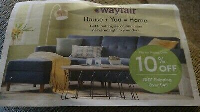 wayfair coupon 10% off first order only expires 4-30-19
