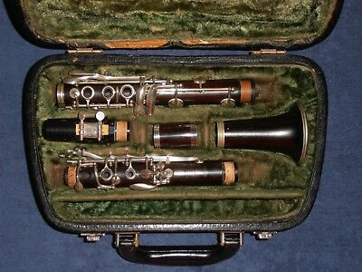 Clarinet in C (wood) : René Guénot France ; Mouthpiece : Buffet Crampon C